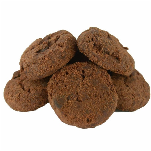 Famous Amos Double Chocolate Chip Cookie, 3 Ounce -- 36 per case. Perspective: front