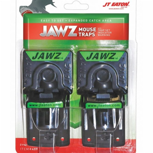 JT Eaton Jawz Mechanical Mouse Trap (2-Pack) 409 Perspective: front