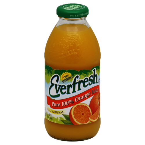 Everfresh Orange Juice Perspective: front
