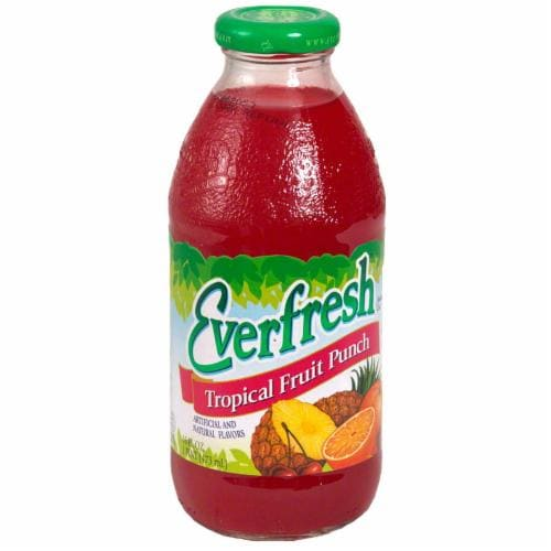 Everfresh Fruit Punch Juice Perspective: front