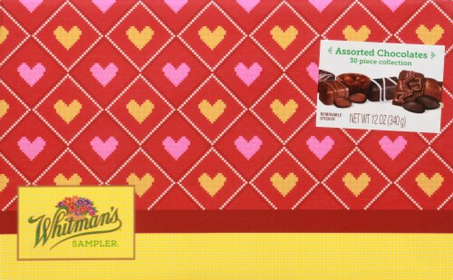 Whitman's Sampler Assorted Boxed Chocolates Perspective: front