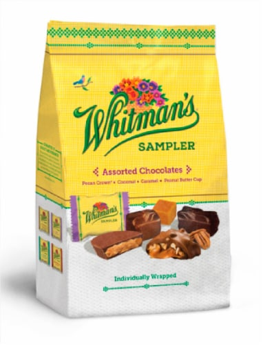 Whitmans Assorted Chocolates Gusset Bag Perspective: front
