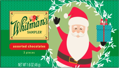 Whitman's Assorted Chocolates Sampler Perspective: front