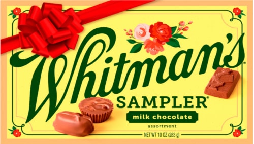 Whitman's Assorted Milk Chocolate Sampler Perspective: front