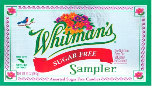 Whitman's Sampler Sugar Free Boxed Chocolate Perspective: front