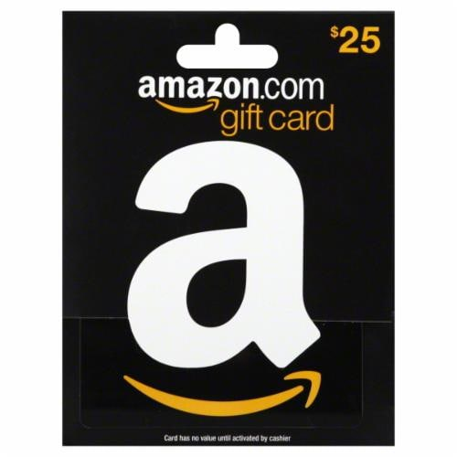 Fred Meyer Amazon 25 Gift Card