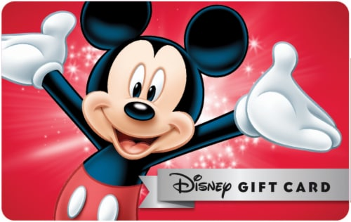 Disney $45 Gift Card Multipack Perspective: front