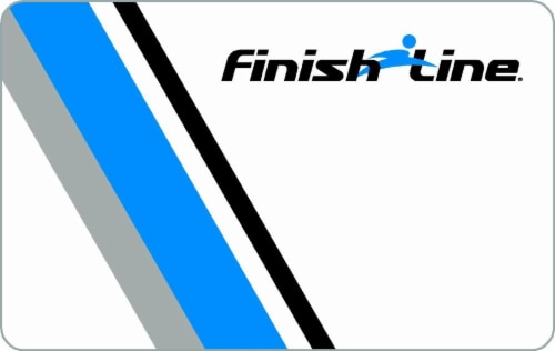 Finish Line $15-$500 Gift Card Perspective: front