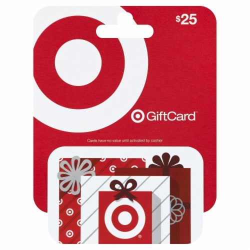 Target $25 Gift Card Perspective: front