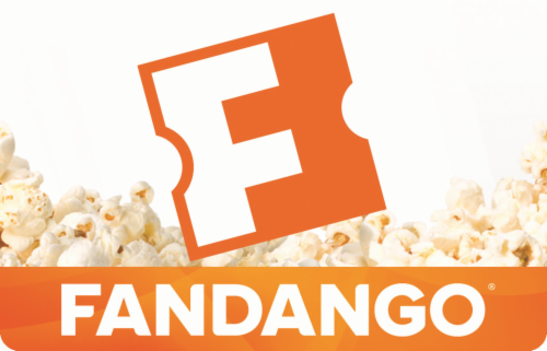Fandango $45 Gift Card Multipack Perspective: front