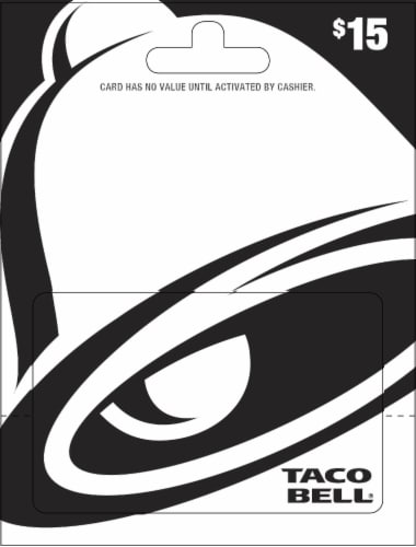 Pay-Less - Taco Bell $15 Gift Card
