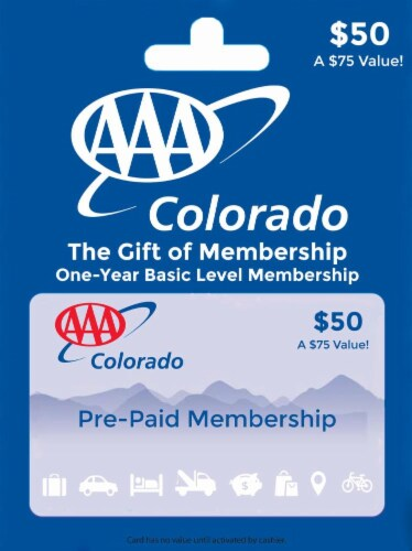 AAA Colorado $50 Perspective: front