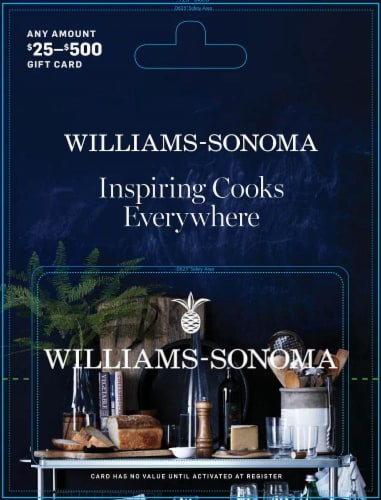 Williams Sonoma Var ($25-500) Perspective: front