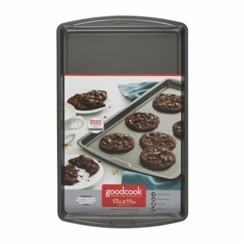 GoodCook® Large Nonstick Cookie Sheet Perspective: front