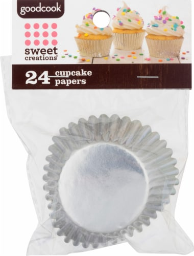 Sweet Creations by GoodCook® Foil Cupcakes Paper Perspective: front