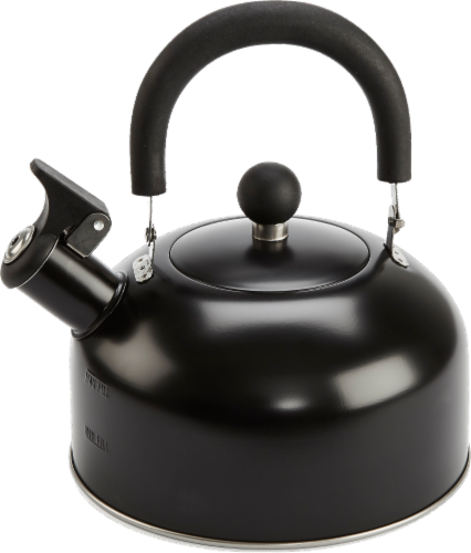 GoodCook® Tea Kettle - Black Perspective: front
