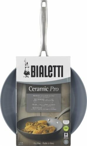 Bialetti Ceramic Pro Nonstick Saute Pan - Gray Perspective: front