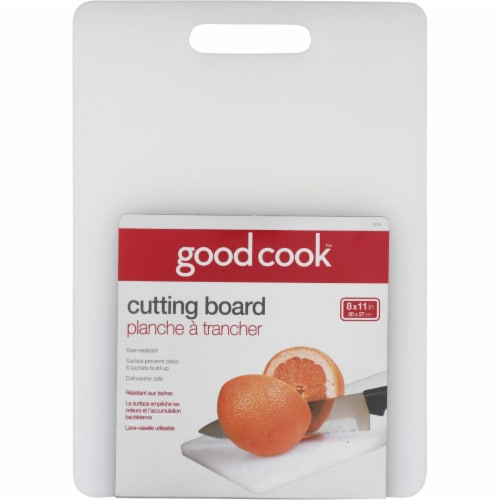 GoodCook™ White Cutting Board Perspective: front