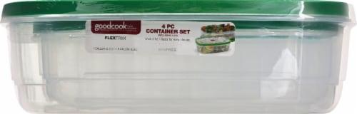 GoodCook® Flex Trim Container Set Perspective: front