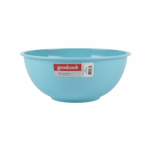 GoodCook® Melamine Mixing Bowl - Teal Perspective: front