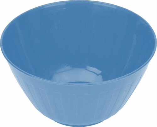 Good Cook Plastic Bowl - Blue Perspective: front