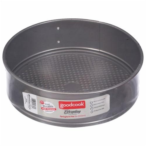 GoodCook® Nonstick Springform Cake Pan - Gray Perspective: front