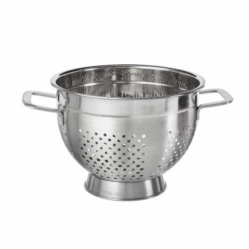 GoodCook® Stainless Steel Colander Perspective: front
