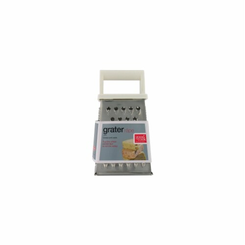GoodCook® Stainless Steel Box Grater Perspective: front