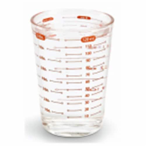 Bradshaw International 223905 4 oz Measuring Glass Perspective: front