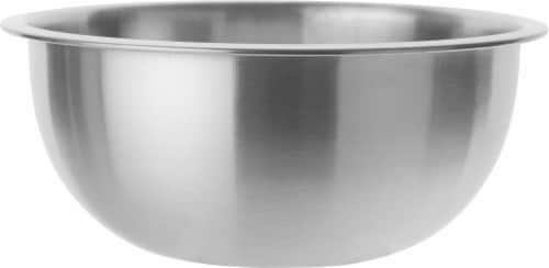 GoodCook® Touch Stainless Steel Mixing Bowl - Silver Perspective: front