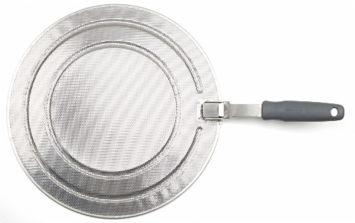 GoodCook® Pro Splatter Screen - Gray Perspective: front