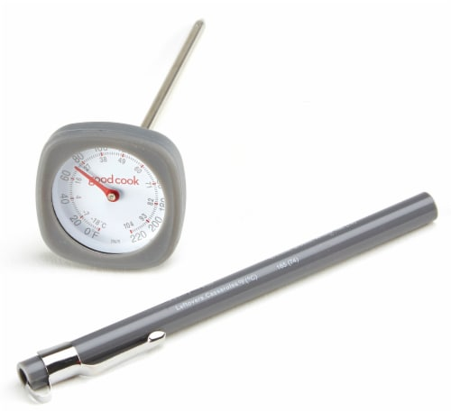 GoodCook® Pro Instant-Read Thermometer - Gray Perspective: front