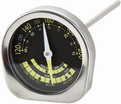 Profreshionals by GoodCook® Stainless Steel Meat Thermometer - Silver Perspective: front
