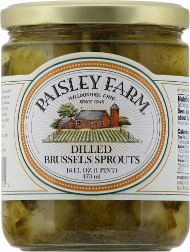 Paisley Farm Dilled Brussel Sprouts Perspective: front