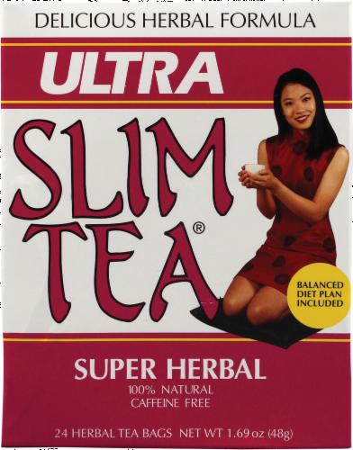 Ultra Slim Tea Herbal Tea Bags Perspective: front