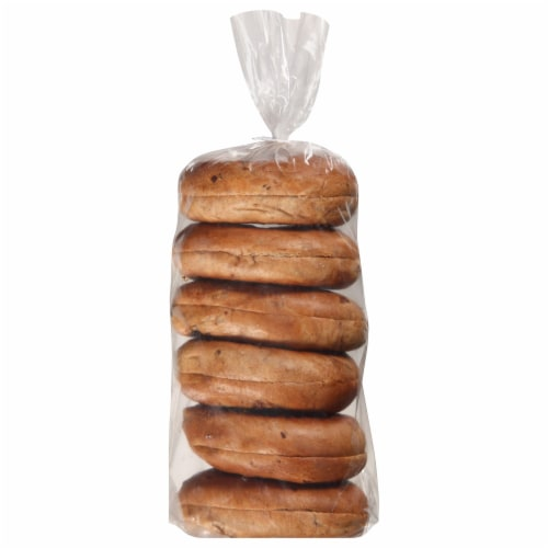 Pinnacle Foods Traditional Sour Cinnamon Raisin Bagel, 3 Ounce -- 12 per case. Perspective: front