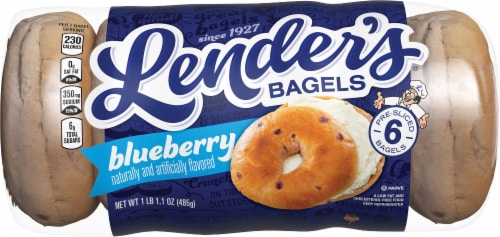 Lender's Blueberry Bagels Perspective: front