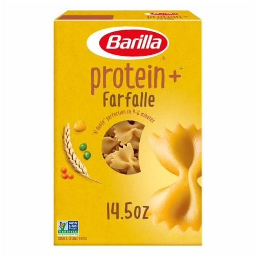 Barilla Protein+ Farfalle Grain & Legume Pasta Perspective: front