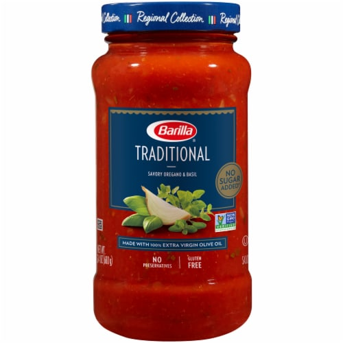 Barilla Traditional Pasta Sauce Perspective: front