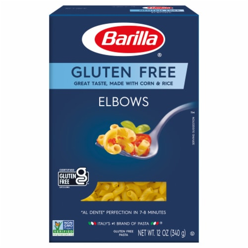 Barilla Gluten Free Elbows Corn & Rice Pasta Perspective: front