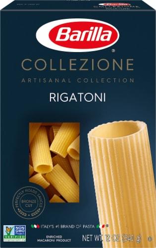 Barilla Collezione Rigatoni Pasta Perspective: front