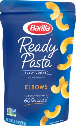 Barilla Ready Pasta Elbows Perspective: front