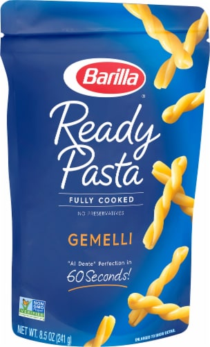 Barilla® Ready Pasta Fully Cooked Gemelli Perspective: front