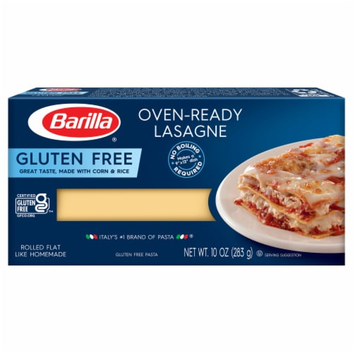 Barilla Gluten Free Oven-Ready Lasagne Perspective: front