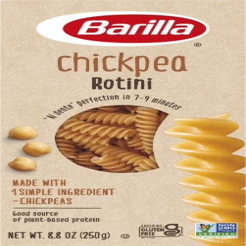 Barilla Gluten Free Chickpea Rotini Pasta Perspective: front