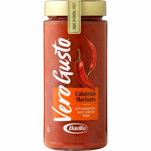 Barilla Vero Gusto Calabrian Marinara Sauce Perspective: front