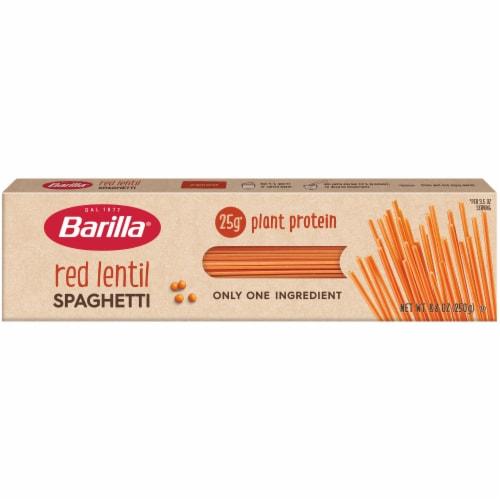 Barilla Red Lentil Spaghetti Perspective: front