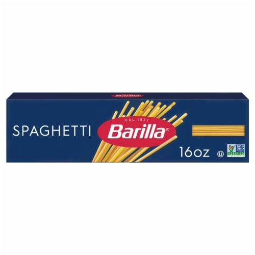 Barilla Spaghetti Perspective: front