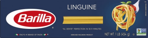 Barilla Linguine Perspective: front