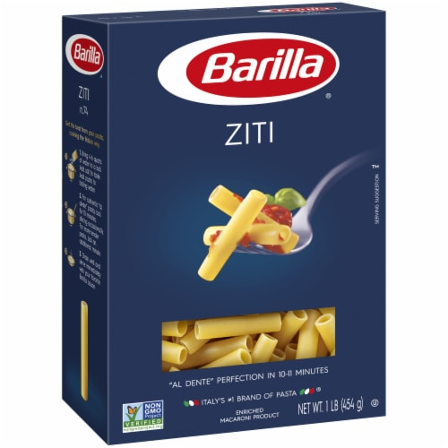 Barilla® Ziti Pasta Perspective: front